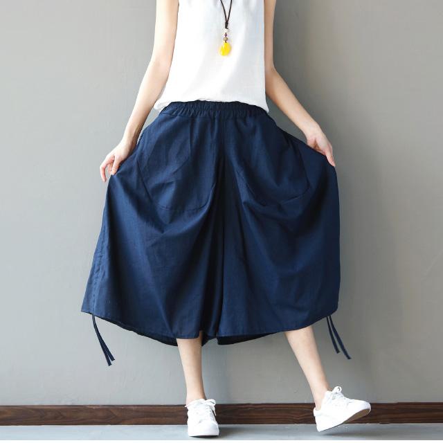 丸みのあるシルエのワイドパンツ☆ゆったり着られる《ミニョンイージーライフ》★
