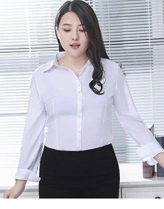 選べる袖丈☆タック入りの上品シンプルシャツ★