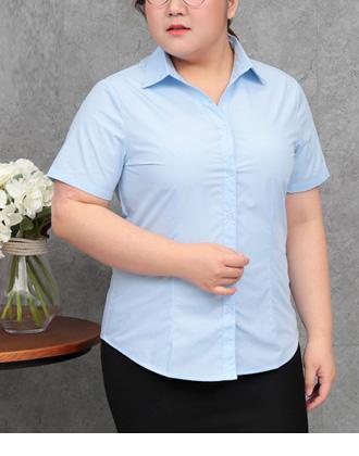 選べる襟♪きちんと感溢れる、シンプル半袖シャツ★