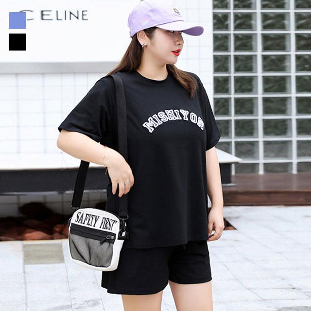 ハッピーカジュアルに♪半袖Tシャツ×ショートパンツSET★